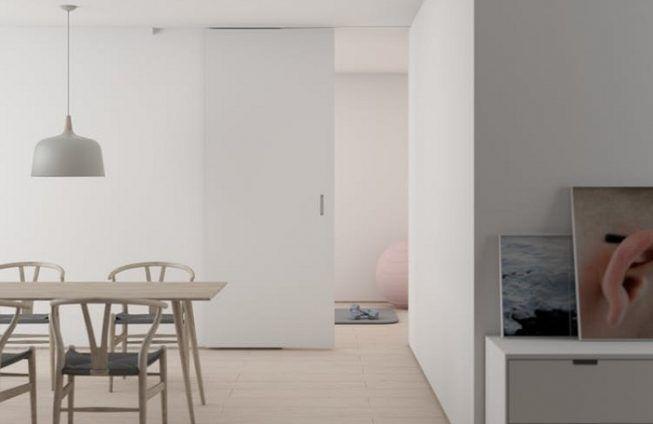 Menos es mas en casa minimalista