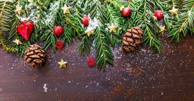 Guirnadas para Navidad