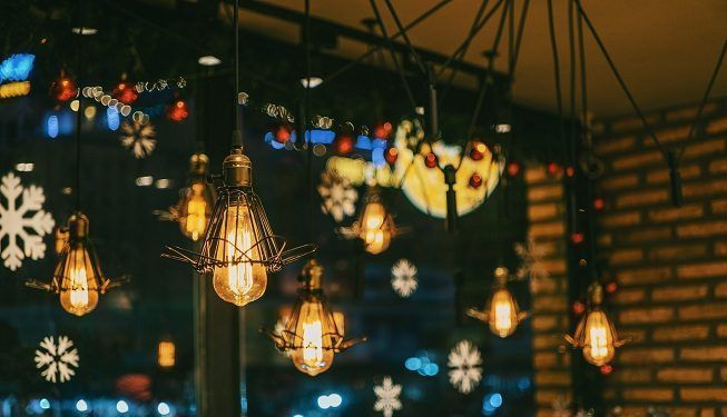 Iluminación en Navidad