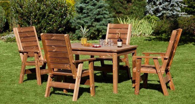 Mueble en madera para el jardín