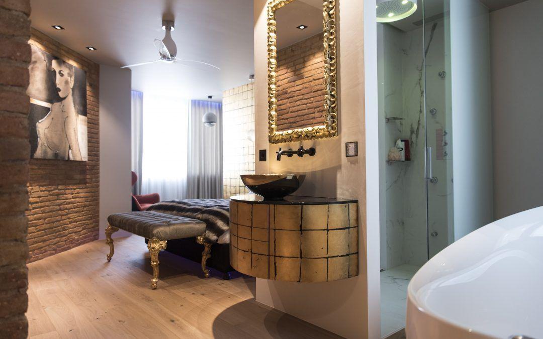 Reforma d'una suite en un pis del centre de Barcelona