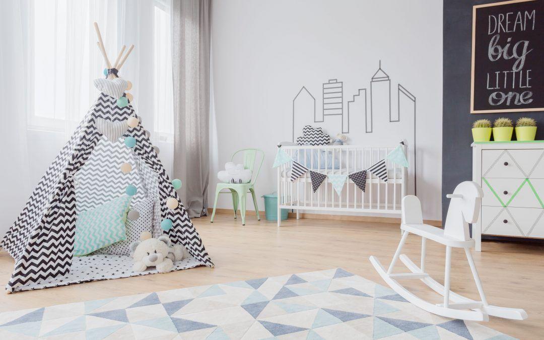 Tipus de sòls perfectes per a habitacions infantils