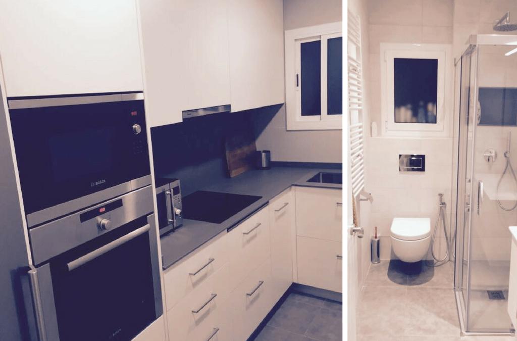 Reforma a Hospitalet de cuina i bany