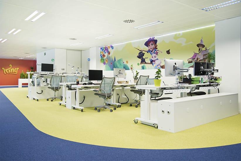 Diseño y montaje oficinas