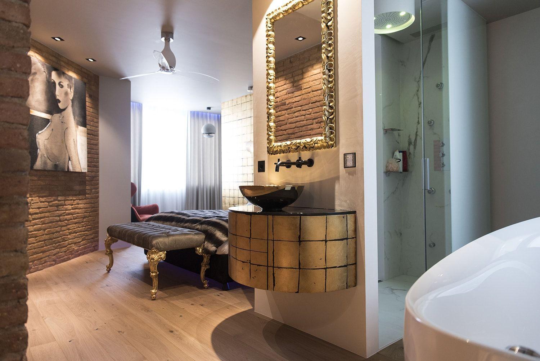 Reforma de una suite en un piso del centro de Barcelona