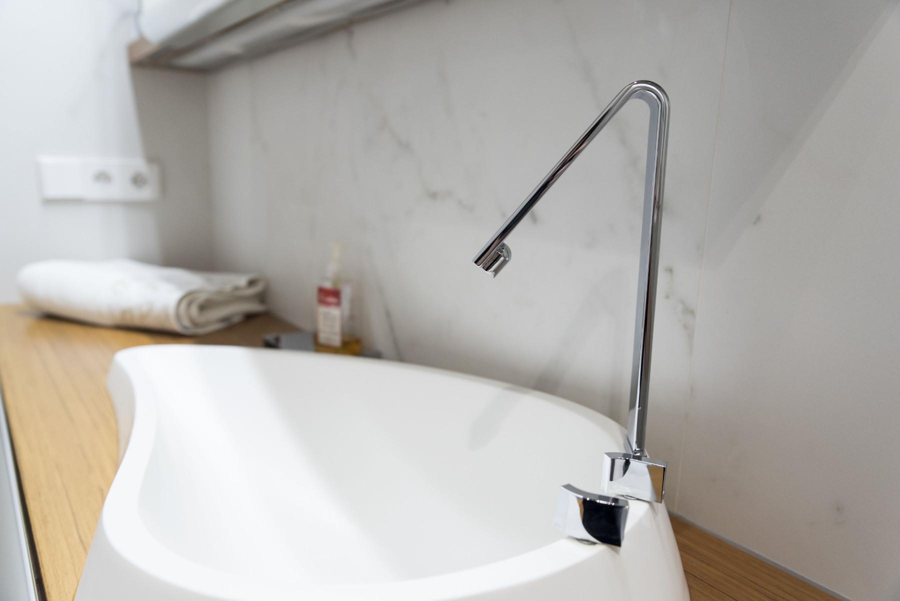 5 tipos de grifos para el baño
