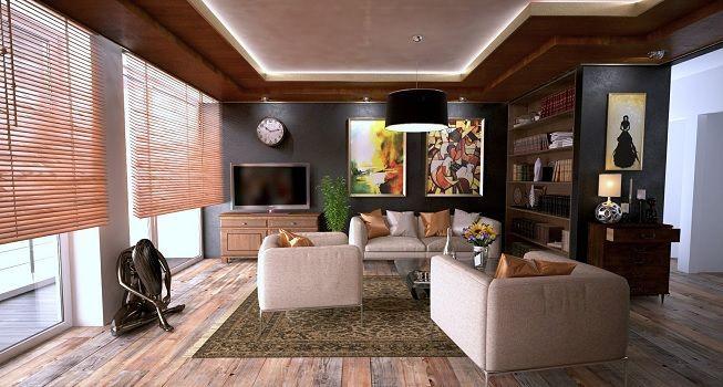 Tipos de persianas para la sala de estar