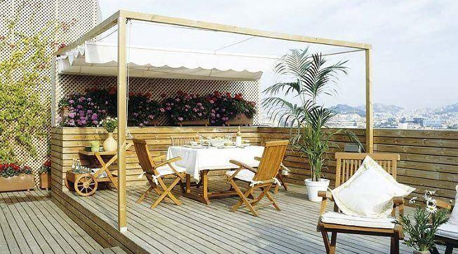 Comedor en terraza