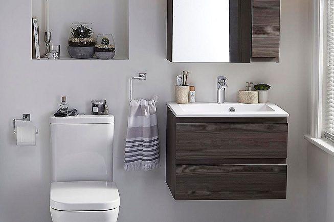 Decoración en baño pequeño