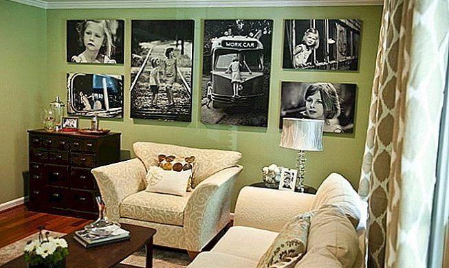 Fotografías para decorar en salas de estar