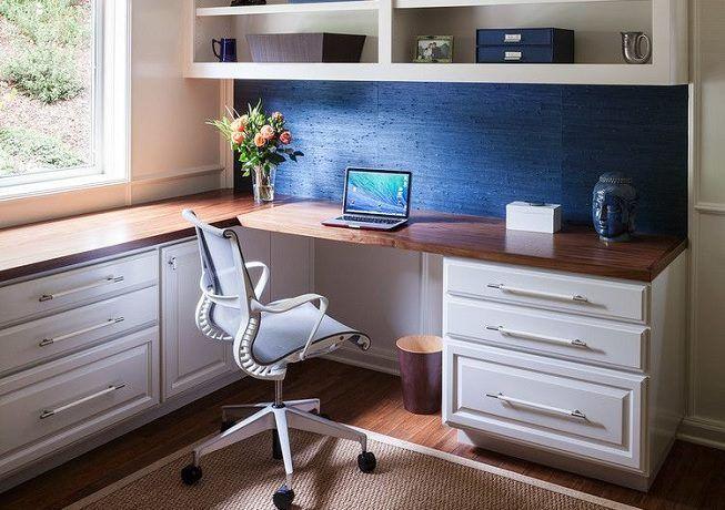 Idea para iluminar el espacio de estudio o trabajo en el hogar