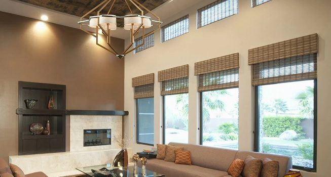 Idea para iluminar la sala de estar
