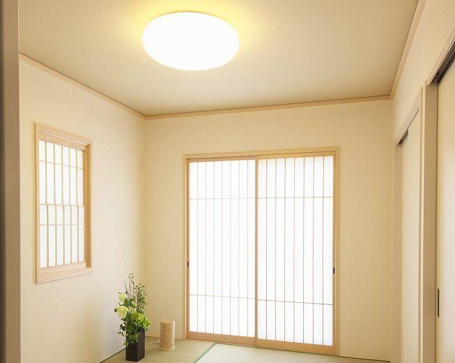 Paredes y techo en color blanco