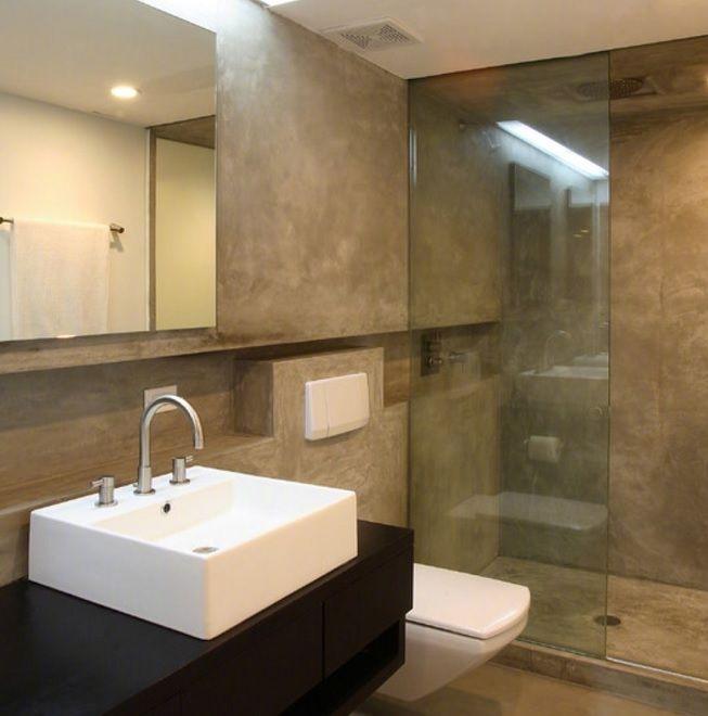 5 opciones en microcemento para reformar el baño que no ...