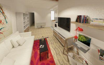 Reforma de casa en el centro de Barcelona (proyecto y diseño)
