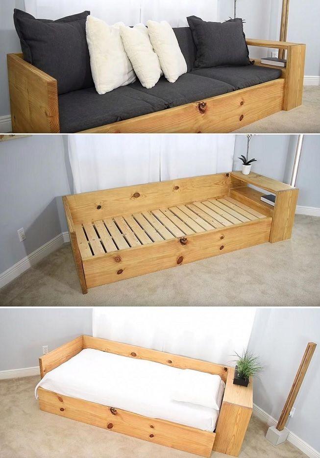Convertir cama en banco