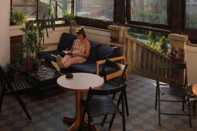 Muebles en terraza