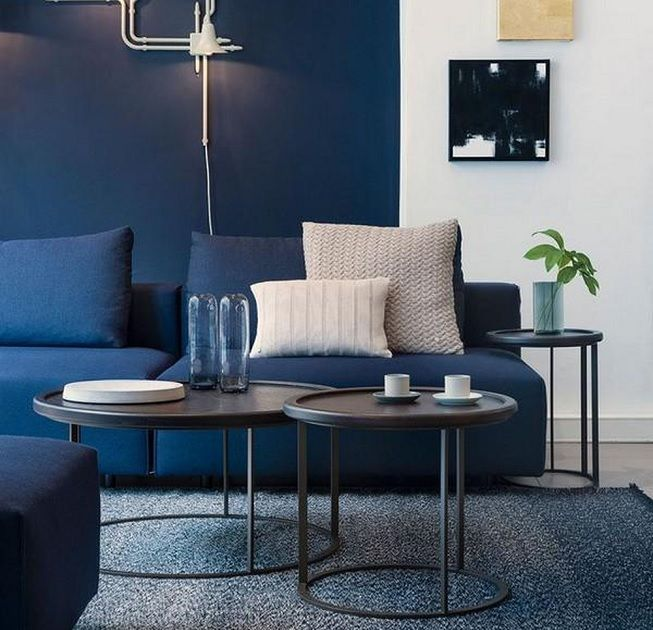 Azul en decoración