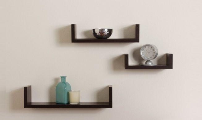Estantería en estilo minimalista