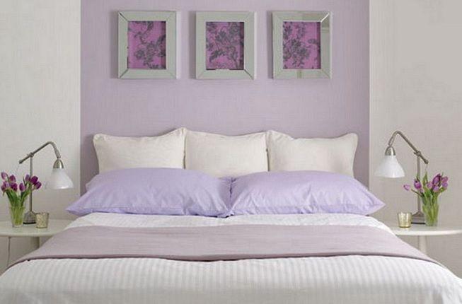 Violeta en decoración