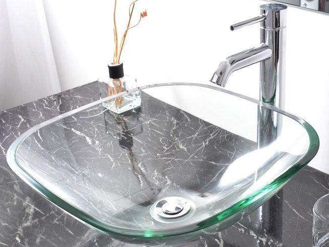 Lavabo en cristal