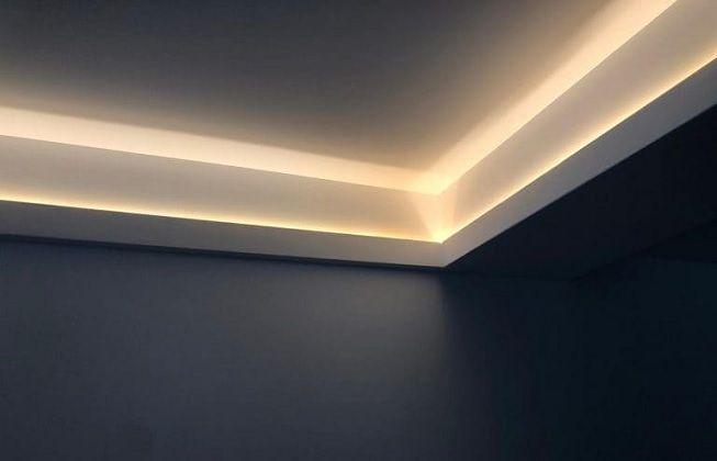 Molduras con luces LED