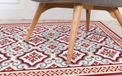 Ideas para cubrir y decorar el suelo con alfombras vinílicas