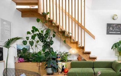 5 diseños de escaleras modernas que harán lucir el interior de tu casa