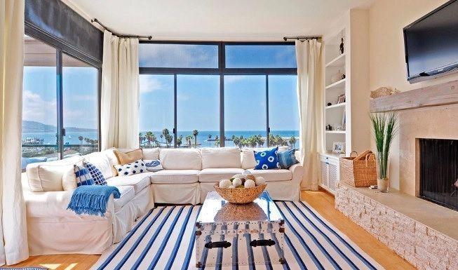 Sala de estar colores del mar