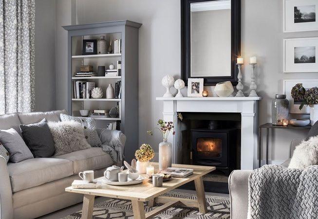 Salón en gris ideas para el hogar