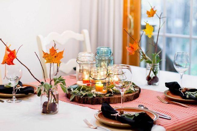 Hojas para decorar en otoño