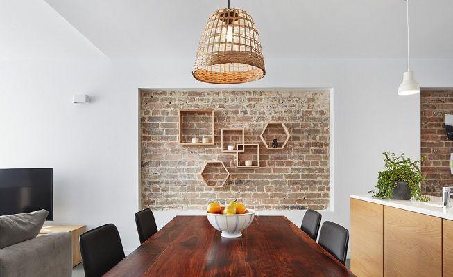 5 atractivas formas de decorar las paredes con ladrillos