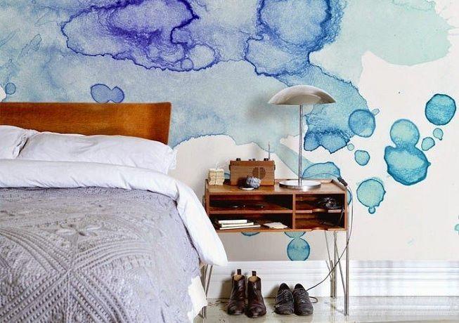 Técnicas de pintura en paredes