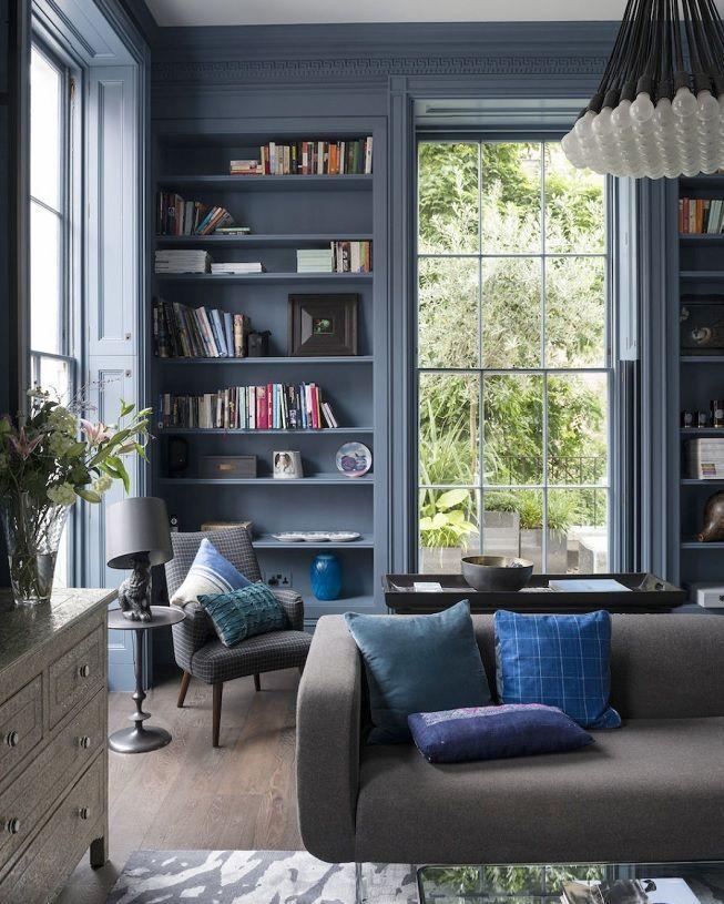 Azul en diferentes tonos
