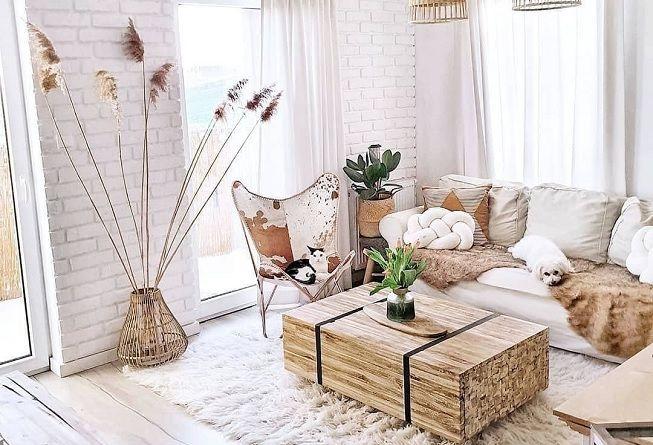 Ideas para decorar sala de estar en invierno