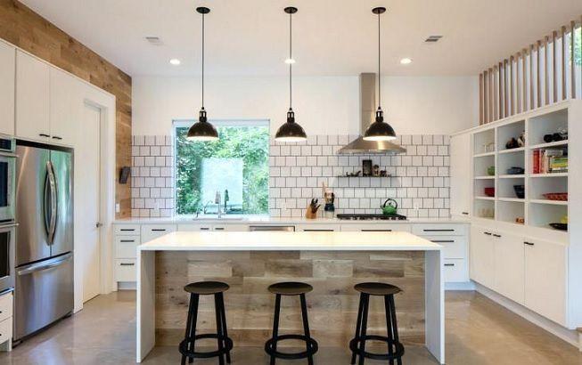Luces LED en cocina