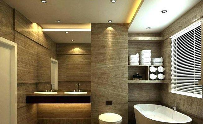 Luces LED en el baño
