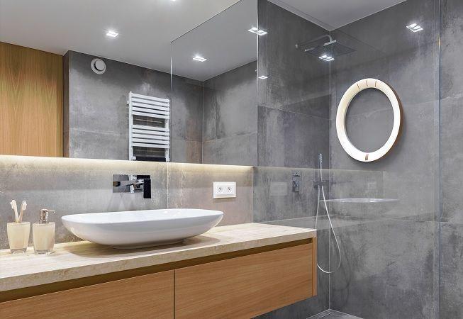Revestimientos en baño con concetro