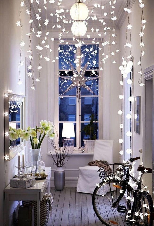 Luces LED en hogar
