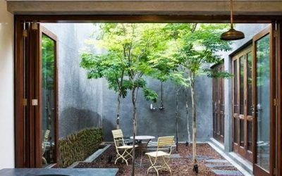 Patios interiores: ideas para redecorarlos