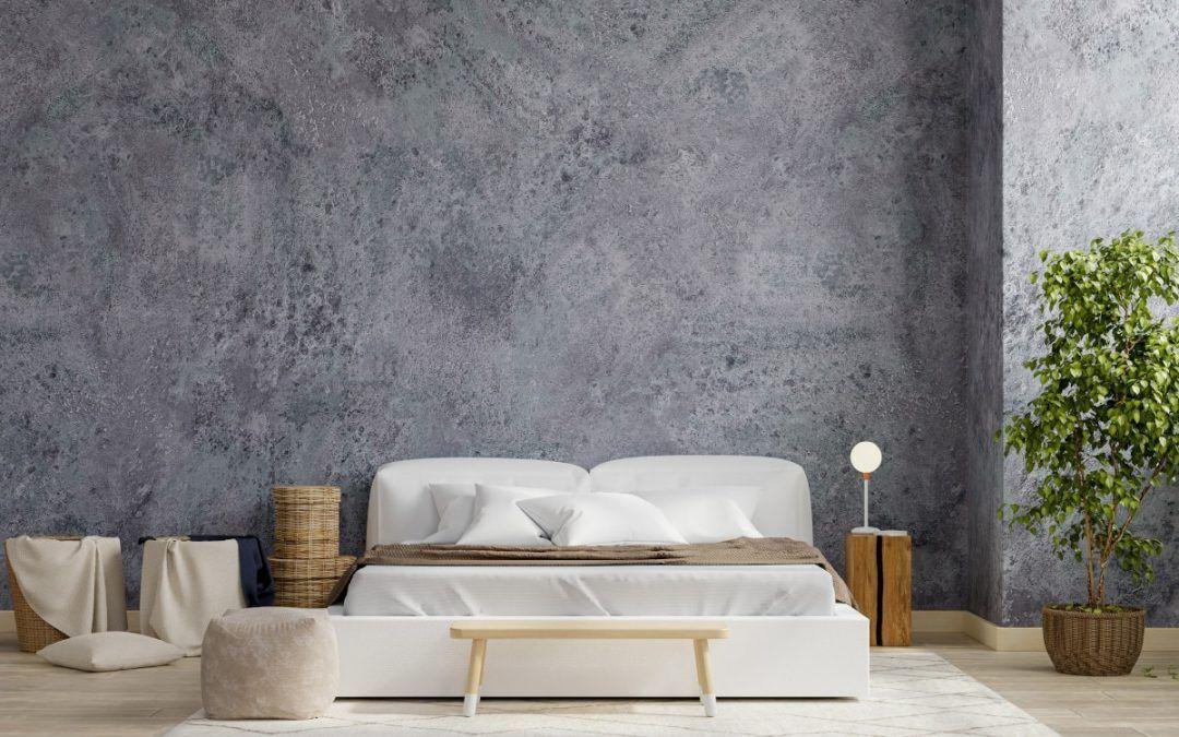 Dormitorio con estilo minimalista